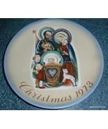 "Sister Berta HUMMEL 1973 Collector Series Christmas Plate ""The Nativity""... - $9.69"