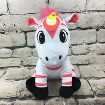 "Wish Me Zoonicorn - Aliel Pink Unicorn Plush Light-Up Horn 9"" Stuffed Animal - $14.84"