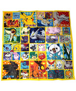 "Pokemon Generation 5 Pokemon Center 16.5"" x 16.5"" Towel * Nintendo * Anime - $14.88"