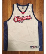 Authentic Champion LA LAC Los Angeles Clippers Blank Home White Jersey 5... - $249.99