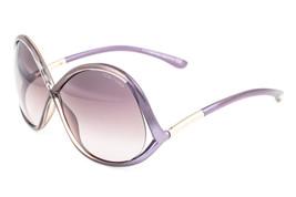 Tom Ford Ivanna Purple / Brown Gradient Sunglasses TF372 69Z - $175.42