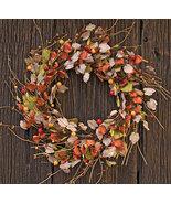 "Autumn Leaves Wreath 22"" - $64.99"