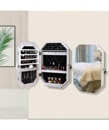 Jewelry Cabinet Armoire Cosmetic Storage with mirror  - $89.00