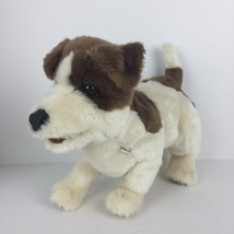 Folkmanis Jack Russell Terrier Puppy Dog Puppet Smooth Coat Plush Full Body - $23.23