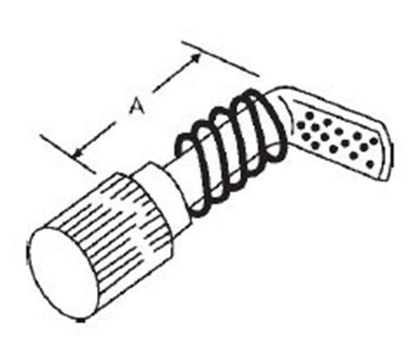 Hillman 3//4 x 7-3//8 x .080 extension spring