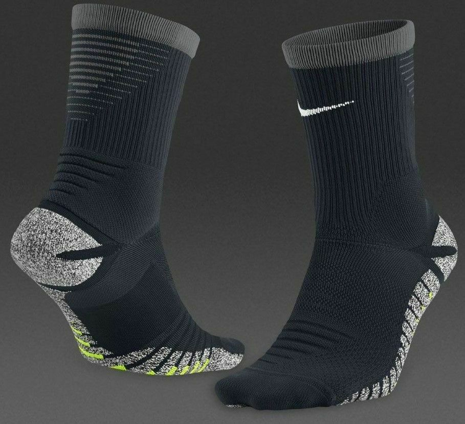 New NIKE Grip STRIKE LightWeight Football Crew Socks  USsz:12-13.5  SX5089-010 image 2