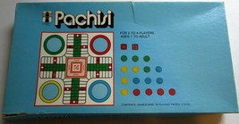 Vintage 1974 Rainbow Works 75988 PACHISI Board Game Complete in Original Box - $14.49
