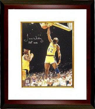 Primary image for James Worthy signed Los Angeles Lakers 16x20 Photo HOF 2003 Custom Framed