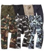 Kids Youth BDU Ranger 6-Pocket Combat Trousers Children Army Uniform Cam... - $12.55+