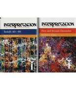 Interpretation : A Bible Commentary for Teaching and Preaching ( Lot/Set... - $267.19