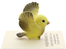 Hagen-Renaker Miniature Ceramic Bird Figurine Canary Tweetie Pa