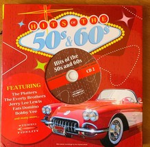 Hits of the 50s & 60s Brand New CD 4 Discs 50 Songs - $14.85