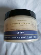 Bath & Body Works Aromatherapy Sleep Chamomile Bergamot Shea Sugar Body ... - £14.53 GBP