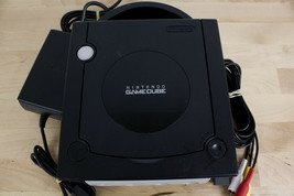 Nintendo GameCube Jet Black Console (DOL-001) Power Adapter & AV Cable  ... - $49.99