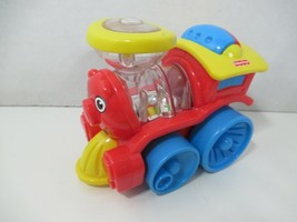 Fisher Price Poppity Pop Train Brilliant Basics push popping balls baby toy - $4.94
