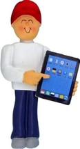 I PAD TOUCH PAD TABLET MALE BOY COLLEGE STUDENT ORNAMENT CHRISTMAS GIFT - $13.81