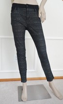 Nwt Joes Skinny Mid Rise Ankle Plaid Coated Paneled Ponte Jeans Pants 27... - $79.15