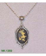 NK-1359 -  Minnie Mouse Cameo on Sterling Silve... - $9.90