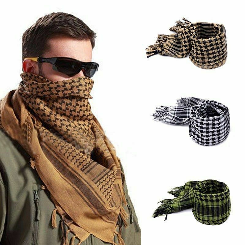 Primary image for Military Scarf Arab Style Tactical Army KeffIyeh Shawl Scarve Neck Wrap Tools