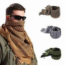 Military Scarf Arab Style Tactical Army KeffIyeh Shawl Scarve Neck Wrap ... - $17.99