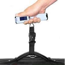 Digital Luggage Travel Scale w/ 110 lb Capacity - Vacation Postal Scale NEW - $12.84 CAD