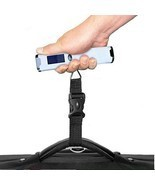 Digital Luggage Travel Scale w/ 110 lb Capacity - Vacation Postal Scale NEW - £12.10 GBP