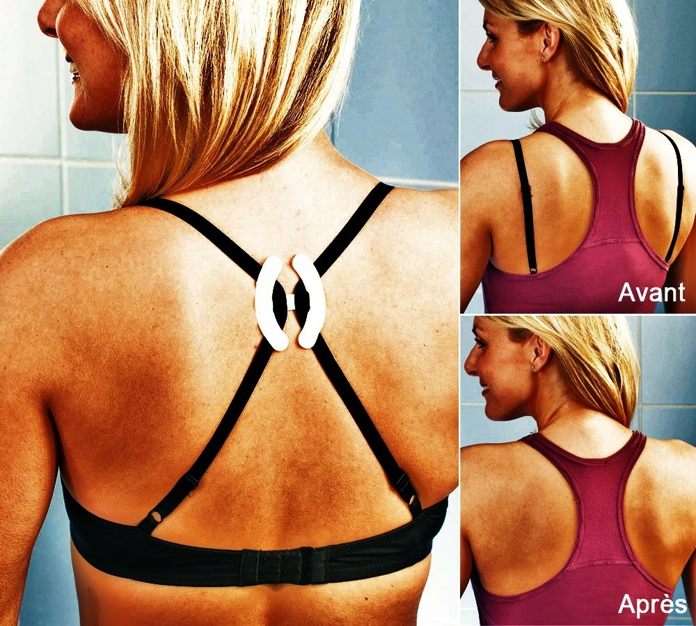 9 Bra Straps Push-Up Concealer - To Make It Invisible -