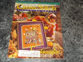 Cross Stitch & Country Craft Magazine September/October 1993 Teacher Sam... - $0.99