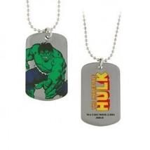 New Series Marvel Comics The Incredible Hulk Dog Tag Necklace Free Shipp... - $12.75