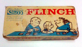 Parker Brothers Flinch Card Game 1963 Edition - Contents New Sealed - $4.95