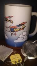 Vintage Otagiri Tall Bi Plane Mug - $14.95