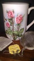 Vintage Otagiri Pink Roses Mug - $12.95