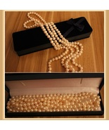 Endless Strand Opulent White Cultured Round 7-8m Freshwater Pearl Necklace - $9.95+