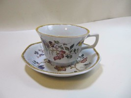 Wedgwood Devon Rose China  Cup & Saucer Set - $9.90