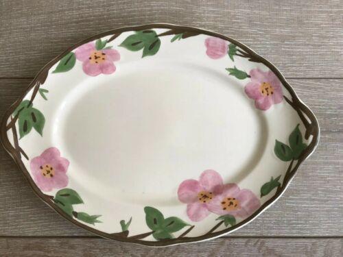 """Franciscan Desert Rose Dinnerware Platter 14"""" x 10"""" Long New Modern Stamp"""