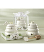 Meant to Bee Ceramic Honey Pot with Wooden Dipp... - $4.08