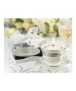 Teacups and Tealights Miniature Porcelain Teali... - $2.65