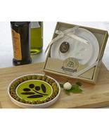Oil Vinegar Dipping and Appetizer Plate Gift - $4.54