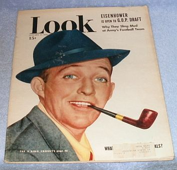 Primary image for Look Magazine January 1950 Eisenhower Crosby Hope Matisse Hayward