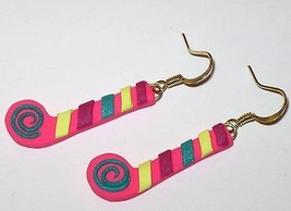 Happy Birthday Party Horn Pink Blue Yellow Poly... - $1.99