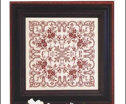 Dogwood Lace cross stitch chart Rosewood Manor