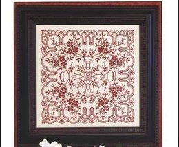 Dogwood Lace cross stitch chart Rosewood Manor - $13.00