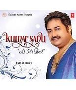 Kumar Sanu - At It's Best Hindi Audio 3 CD pack Best Hindi Audio Song CD's - $9.89