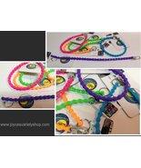 Biker Key Chain Neon Colors PURPLE NWT Silicone - $8.99