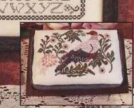 Peaceful Dove sampler cross stitch chart Rosewood Manor