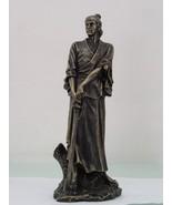 14 Inch Standing Japanese Samurai Warrior Resin Statue Figurine - $49.90
