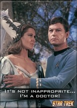 Star Trek: The Original Series I'm A Doctor Photograph Magnet, NEW UNUSED - $3.99