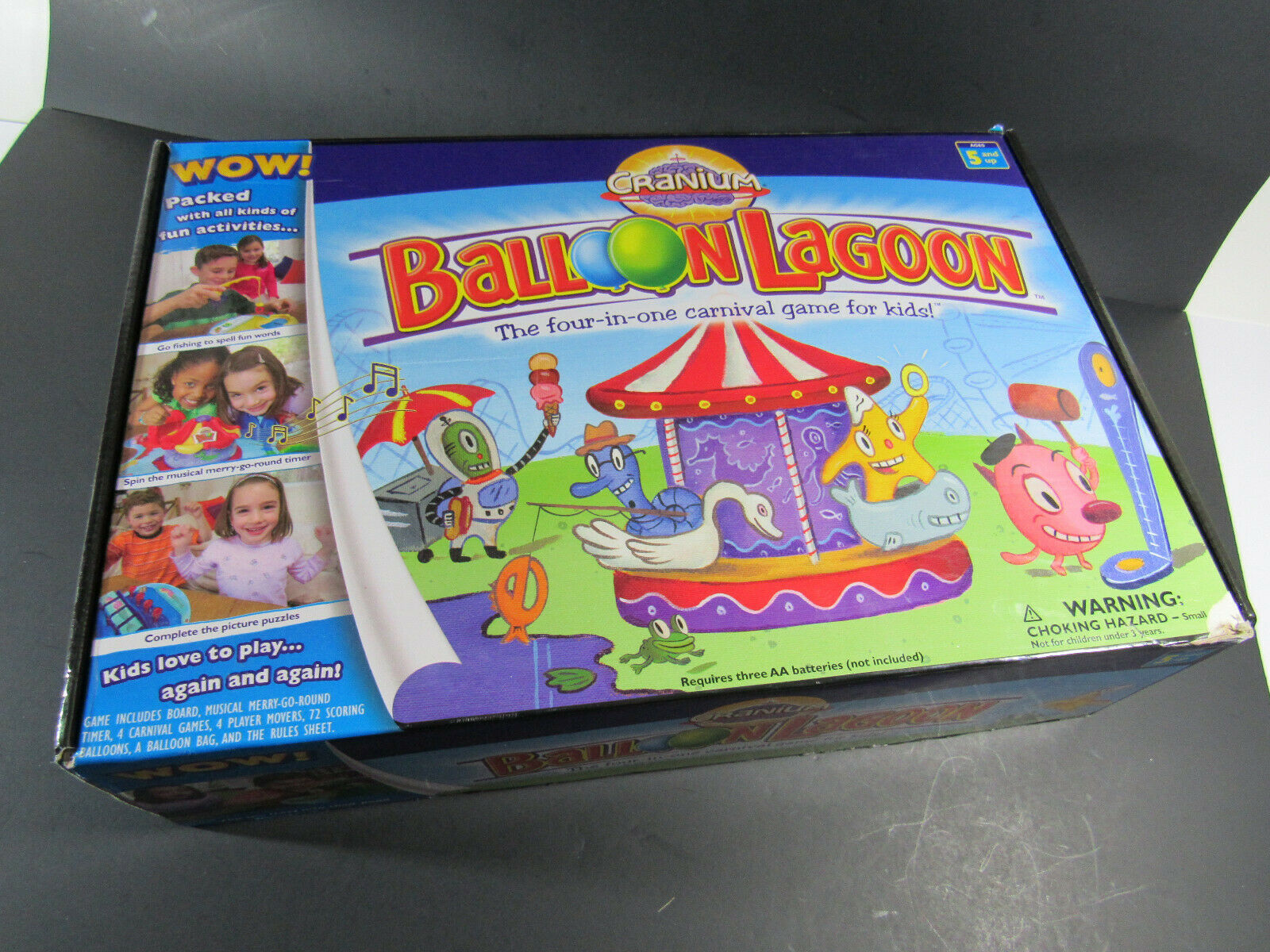 Primary image for Cranium Balloon Lagoon 2004 The Four-In-One Carnival Game For Kids Ages 5+