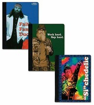 """3 Duck Dynasty Composition Notebooks - 100 Wide Ruled Sheets 9.75"""" x 7.5... - $11.73"""