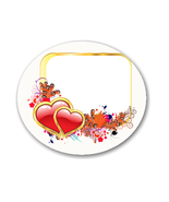 AG-Valentine Background Shape-Digital Clipart - $3.00